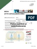 Fizica cuantică și autovindecarea | Oficial Media