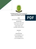 REACTIVOS GRUPAL DE NATURALEZA DE COSTOS