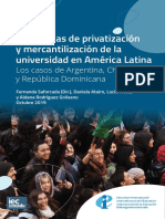 Privatización de la universidad in América Latina.pdf