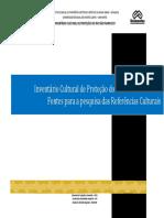 Invent_rio Cultural de Prote__o do Rio S_o Francisco - Fontes para a pesquisa das Refer_ncias Culturais