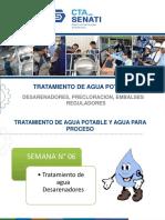 Semana N° 6 - Tratamiento de Agua Potable TTA