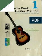 Alfreds basic guitar method, book 1