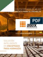 Catalogo tecnico Encofrado Atex