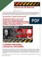 KEVIN ANNETT-JUICIO AL VATICANO