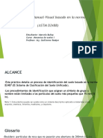 Marcelo Buñay-Identificación Manual-Visual  (ASTM D2488)