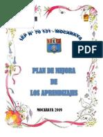 PLAN DE MEJORA MOCARAYA