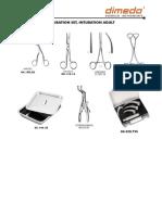 Brosur Intubation, Adult