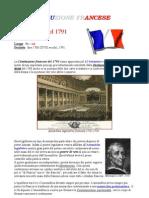 costituzione francia 1791