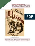 Da aprile a settembre genesi per Lucia di Lammermoor