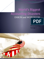 Enron and WorldCom Scandal- An Overview