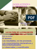 Evaluación auténtica del aprendizaje. Frida Díaz Barriga