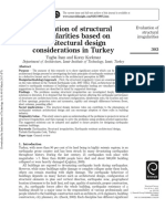 Evaluation of structural irregularities based on architectural design considerations in Turkey