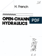 Open Channel Hydraulics - r h