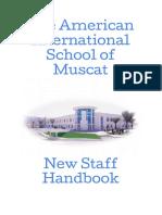 New Staff Handbook - December 2018