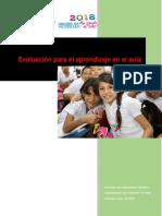 10. Documento de Referencia sobre Evaluación para el aprendizaje en el aula