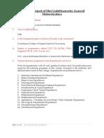 Evaluative Report - SGAM