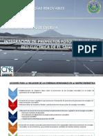 CNE - presentacion para PROESA (marzo-2016) C. Najera