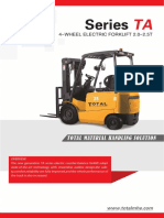 electric forklift 2.0-2.5t