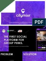 Citymixr Deck Compressed