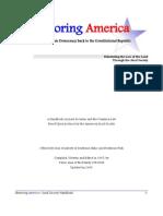 Restoring America - Jural Society Handbook