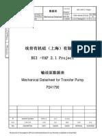 17058-1400-ME-DTS-029_Rev.E1 P241790 MECHANICAL DATASHEET FOR PUMP.pdf