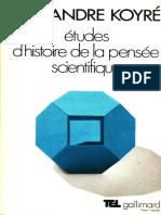 (Tel Gallimard) Koyré, Alexandre - Études d'histoire de la pensée scientifique-Gallimard (1985).pdf