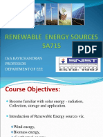 Rrenewable Energy Sources(5a715 )_syllabus