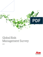 2019 Aon Global Risk Management Survey Report