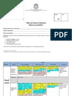 Rúbrica presentación final e-portafolio