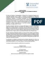Convocatoria libro Estudios Jurídicos y Eonómicos sobre el salario USC-IELAT