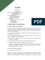 Programa CIENCIA POLÍTICA  2018