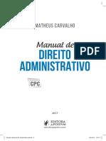 Mateus Carvalho  Improbidade Administrativa