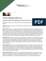 fenoterol inhalation solution