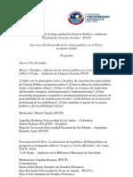 V Aniversario Especialidad Ciencia Política y Gobierno PUCP