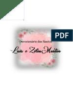 Devocionário dos Santos Luís e Zélia