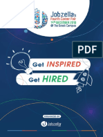 Jobzella's 4th Career Fair Booklet 2019
