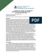 INTA Marcos Juárez - Analisis Económico de los Sistemas Predominantes