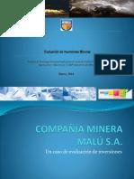 Evaluacion de Inversión Minera