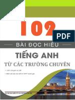 102 Bài đọc hiểu từ các trường chuyên - giải chi tiết