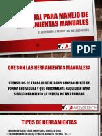 MANUAL PARA MANEJO DE HERRAMIENTAS MANUALES