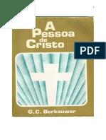 A PESSOA DE CRISTO BERKOUWER PDF