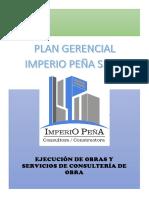 PLAN GERENCIAL IMPERIO PEÑA SAC