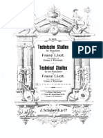 Technische Studien, S.146 (Liszt, Franz) vol.5