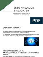 TALLER DE NIVELACION- dayana