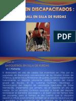 Clasificacion del basket en silla de ruedas