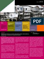 Boletin Derecho a La Vivienda y a La Ciudad en Am Rica Latina Nro. 4 1