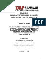 PROYECTO_UTILIDAD DEL TIEMPO LIBRE Y SU  RELACIÓN.doc