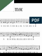 pentagrama del titanic