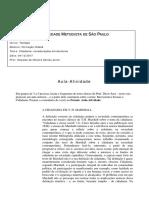 Aula Atividade - Aula 3 -Formacao Cidada-Oswaldo || UMESP