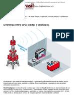 Diferença entre sinal digital e analógico - CGRBrasil Desenvolvimento e Hospedagem de Sites e Sistemas
